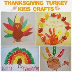 There's Magic Out There: Thanksgiving Turkey Kids Crafts