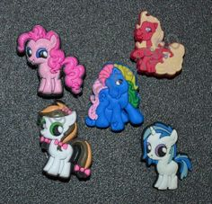 3f20b6bcfc434 My Little Pony Jibbitz Shoe Charms fit Wristbands