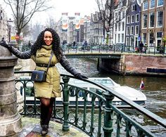 More smiles from #Amsterdam courtesy of @angellatina. // Travel Well #TravelFly!