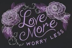 Warm Thoughts - Love More Worry Less_image