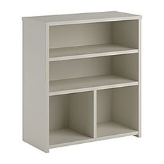 SystemBuild™ White Finish 3-Shelf Cube Organizer at Big Lots.$30