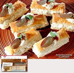 Filled Gorgonzola Bars / Fylte Gorgonzola Stenger - A great appetizer recipe found on oetker.no - Gorgeous blue cheese bars, perfect for party appetizers. A glass of dry cherry and a few of these and your guests will feel welcome and at ease - http://recipereminiscing.wordpress.com/