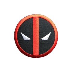 Dead Pool Patch Embroidered Superhero Movie Iron On Sew On Patch