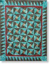 X-Blocks Tuxedo Quilt Pattern