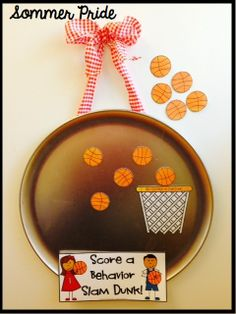 by Kay Sommer Pre-K - Grade Use Pizza Pan Praise for Classroom Management Get ready for March Madness by creating a calm and p. Class Incentives, Behavior Incentives, Kids Rewards, Classroom Rewards, Classroom Management, Behavior Management, Stars Classroom, Sports Theme Classroom, Classroom Setup