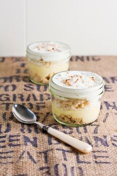 Hummingbird High: Lemon and Coconut Cream Pie... in a Jar!