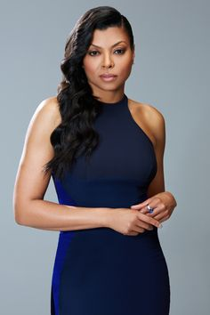 Taraji P. Henson - so beautiful. Rich, deep navy blue is a stalwart colour for Dark Winters. Black is fine for all Winters but it is absolutely everywhere and not particularly interesting as a result. This is a great alternative.