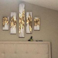 Diy Wall Painting, Diy Wall Art, Wood Wall Art, Wall Decor, Panel Wall Art, Wall Art Sets, Extra Large Wall Art, Large Art, Living Room Decor Set