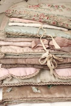antique and vintage hankie/silk stocking holders