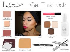 Beautiful look using Limelight By Alcone Makeup. Get all you need for this look at http://glamlifenation.com/