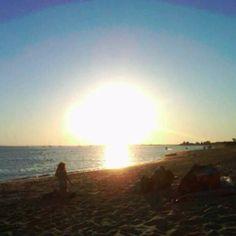 Sunset at Sandy Hook - Bay side