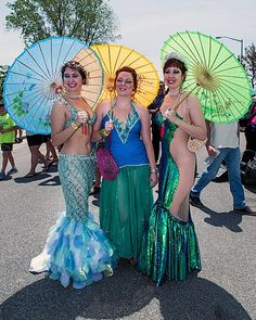 Mermaid Parade 2013 Costumes at www.SapphireSiren.com Mermaid Costume, Coney Island Mermaid Parade