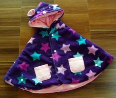Waran Ungu Bintang - Pink keren ya bund jaket selimut bayinya