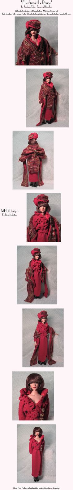 MHD Designs - She Loved Red
