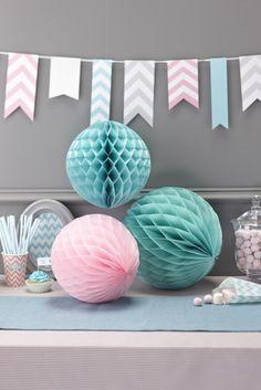 Auch die Partydeko kann pastellfarben ausfallen. #pastell #livingroom #furniture #home #homestory #interior #decoration