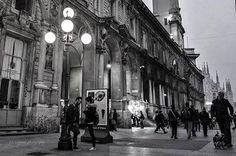 Con Sergey Bykov eccoci davanti a palazzo Giureconsulti #milanodavedere Milano da Vedere