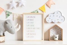 🎁 Choose 4 prints or sets of prints (add 4 items to your basket), use the 4FOR2 code at checkout, and receive 50% off on your order! Positive Kids Affirmations, Kid Affirmations, Educational Posters, I Am Enough, Kids Room Decor, Motivational Poster, Kids Bedroom Decor Thanks to these Positive Pastel Nursery, Boho Nursery, Nursery Prints, Nursery Wall Art, Girl Nursery, Nursery Decor, Jungle Nursery, Bedroom Decor, Bedroom Wall