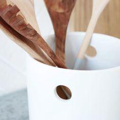 Keraaminen keittiöpurkki, kork. 16 cm