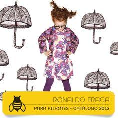 Projeto Gráfico e Direção de Arte #graficdesign #fashionbook #kids #ronaldofragaparafilhotes #design