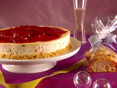 Holiday Cheesecake from FoodNetwork.com