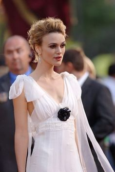 Keira Knightley in Gorgeous White Chanel Dress