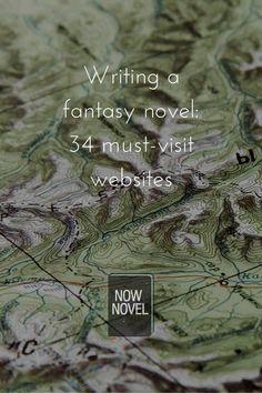 Writing a Fantasy Novel - Useful Resources |Writing advice | writing tips #CherylProWriter Writing Fantasy, Fantasy Story, Book Writing Tips, Writing Resources, Gangster Rap, Graffiti Designs, Name Generator, Fantasy Landscape, Novels