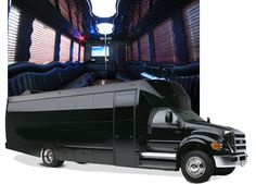 Party Bus 32 Passenger - This Limo party bus is the ultimate in luxury and convenience. #limopartybus