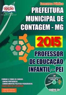 Promoção -  Apostila Prefeitura de Contagem - Professor de Educação Infantil  #concursos