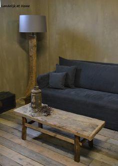 Mooie houten salontafel oud hout
