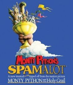 Monty Python's Spamalot is a musical comedy adapted from the 1975 film Monty Python and the Holy Grail inspired by the Arthurian legends. The original Broadway production received 14 Tony Awards nominations. Broadway Plays, Broadway Theatre, Musical Theatre, Broadway Shows, Children's Theatre, Broadway Tickets, London Theatre, Stage West, Warwick Davis