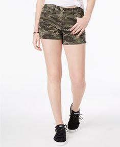 beac3da87a7 Vanilla Star Juniors  Classic Denim Shorts Juniors - Shorts - Macy s