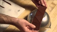 Chocolate decorations and tempering chocolate