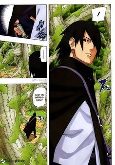 Naruto Manga 700 Page 19 Sasuke