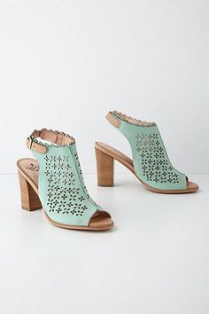 If I were being practical, I would buy them in tan. But doesn't the seafoam look absolutely stunning?!  With white jeans or leggings...yummy!