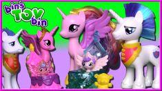 Meet the NEW Princess Cadance & Shining Armor! | My Little Pony NEW LOOK... My Little Pony Figures, Jake The Dogs, Toy Bins, Ava, Princess Peach, New Look, Jackson, Meet, Toys