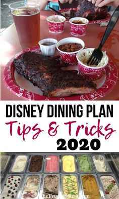 Tips and tricks for planning to get the most out of the Disney Dining Plan at Walt Disney World! How to find the best use of dining plan credits and stretch your food budget on your Disney vacation. Disney Cruise, Disney Honeymoon, Disney Vacation Planning, Disney World Planning, Walt Disney World Vacations, Disney Parks, Vacation Ideas, Vacation Quotes, Trip Planning