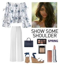 """""""Spring Fashion"""" by kotnourka ❤ liked on Polyvore featuring Mansur Gavriel, Maybelline, NARS Cosmetics and Bare Escentuals"""