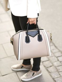 givenchy street style bag- Givenchy handbag trends http://www.justtrendygirls.com/givenchy-handbag-trends/