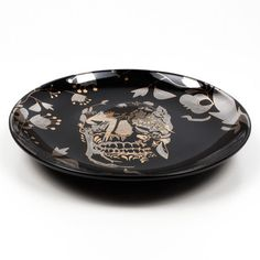 Delft Skull Plates Set now featured on Fab.