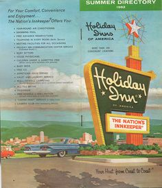 1962 Holiday Inn Directory  by Drive-In Mike, via Flickr