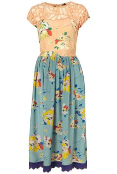 LIMITED EDITION Floral Mix Match Dress