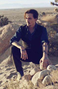 Johnny Depp Sauvage pour Dior