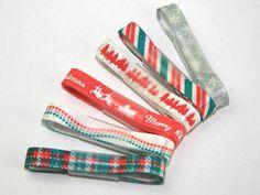Fantasia Premium 'Christmas Red' Design Ribbon Bundles (6 x 1mt per pk) Preview