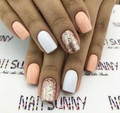 Are you looking for summer nails colors designs that are excellent for this summer? See our collection full of cute summer nails colors ideas and get inspired! Cute Summer Nails, Cute Nails, My Nails, Nail Summer, Summer Vacation Nails, Summer Holiday Nails, Summer Beach, Trendy Nails, Bright Nails For Summer