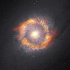 """""""The Death Zone"""" --Massive Star Creation Fading at Galaxy Centers: 'Big Bang Model Fails to Predict This' 11/28/17 Black Holes NGC1097"""