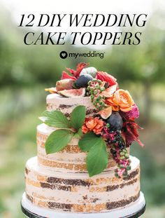 Need some DIY wedding ideas? Try one of these DIY wedding cake topper projects that work for any of your wedding desserts. These DIY wedding cake toppers are fun and unique wedding decorations that are truly one of a kind.