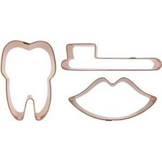 dental cookie cutters