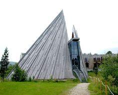 Sami Parliament building in Karasjok, Norway. by Stein Halvorsen