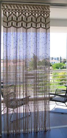 Macrame Bohemian Curtains Boho Wedding Backdrop Large Room Divider Summer Beach Wedding decor Shabby Chic Wedding Backdrop Boho Chic Outdoor by MinimalFrufru on Etsy https://www.etsy.com/listing/231399265/macrame-bohemian-curtains-boho-wedding