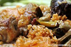 El arroz al horno con alcachofas y habas es un arroz que se hace en invierno o principio de primavera, aprovechando la temporada de...